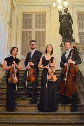 Quartetto archi Adorno - 26 giugno Ravenna Festival